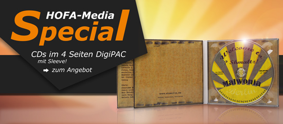 HOFA-Media Special: DigiPAC mit Pocket