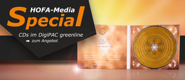 HOFA-Media Special: CDs im DigiPAC greenline