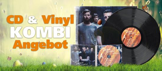 CD & Vinyl Kombi-Angebot