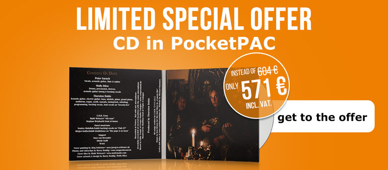 Limited special offer - CD in PocketPAC!