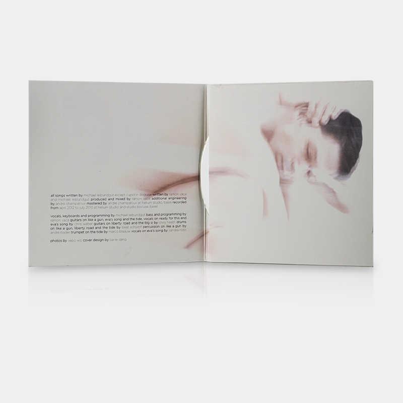 Bild: CD-Kartontasche, 4 Seiten