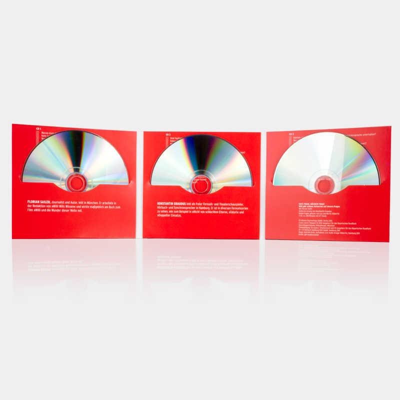 Bild: DigiFile, 6 Seiten, für 3 CDs
