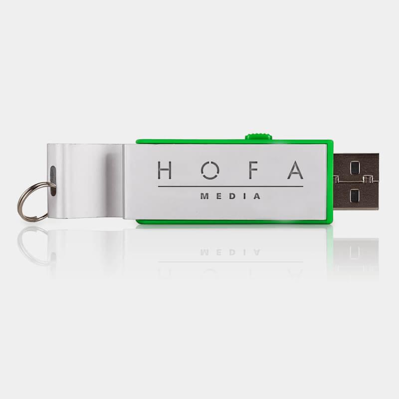 Bild: USB-Stick mit Öffner