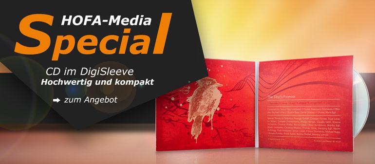 HOFA-Media Special: CD im DigiSleeve