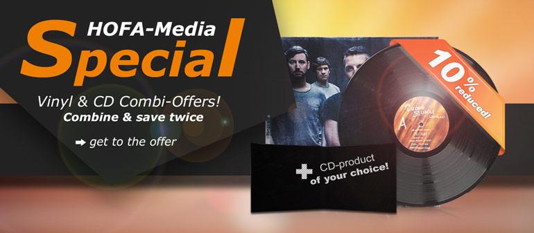 CD & Vinyl-Combi offers!