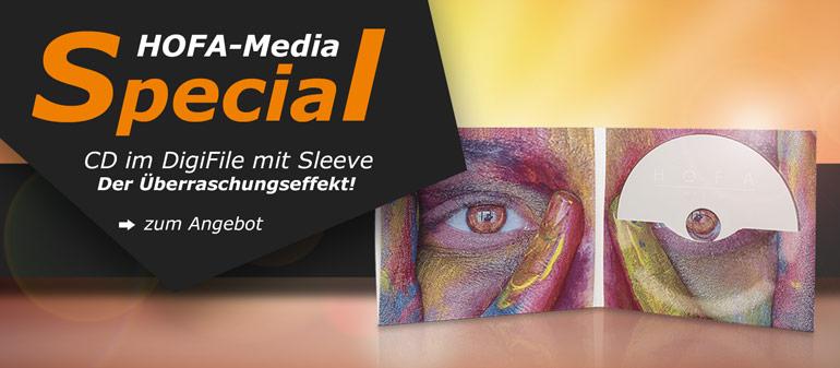 CD im DigiFile mit Sleeve: Der Überraschungseffekt!